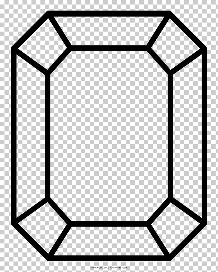 Coloring book Ruby Gemstone Max Bunny Diamond, ruby PNG.