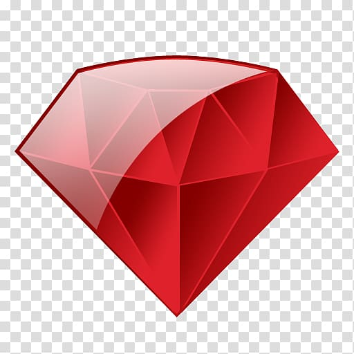 Ruby Icon Programming language, Ruby transparent background.