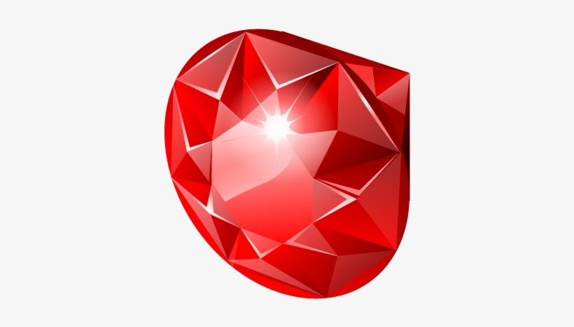 Diamond Clipart Ruby Stone.