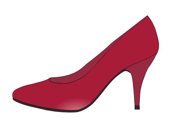 Ruby Red Slippers Clip Art at Clker.com.