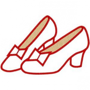 High Quality Ruby Slippers Clip Art Photos.