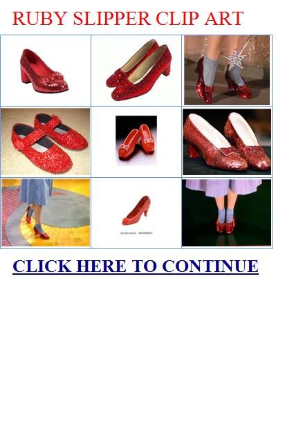 Ruby slipper clip art. Free ruby slipper clip art.