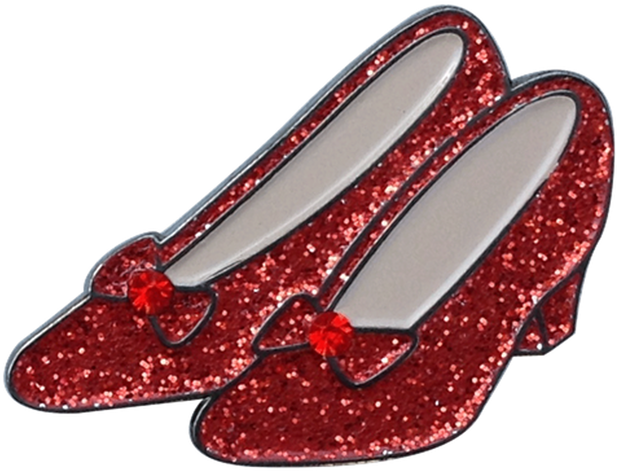 HD Ruby Red Slippers Clipart Transparent PNG Image Download.