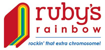 Ruby\'s Rainbow Logo.