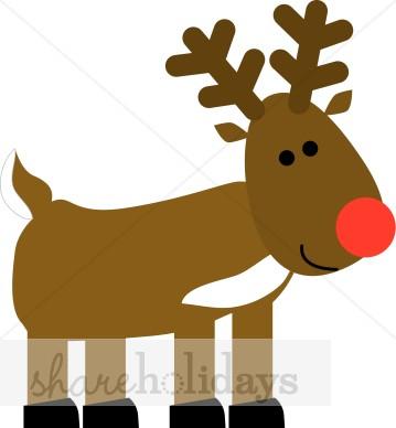 Rudolph Clip Art Free.