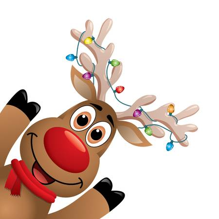 Rudolph The Red Nosed Reindeer Clipart 8.