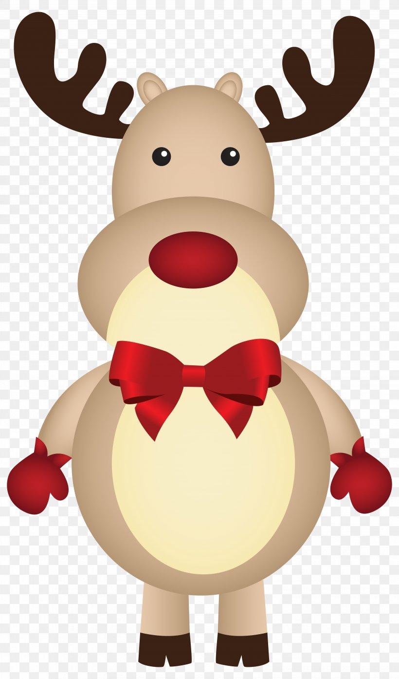 Rudolph Santa Claus Reindeer Christmas Clip Art, PNG.
