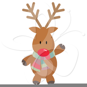 Rudolph Clipart Free.