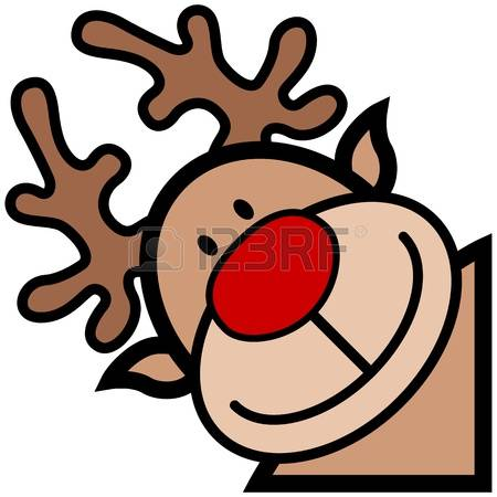 345 Rudolph Face Stock Illustrations, Cliparts And Royalty Free.