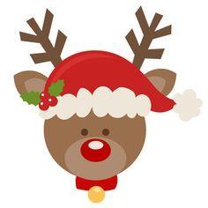 Rudolph face clipart 6 » Clipart Portal.