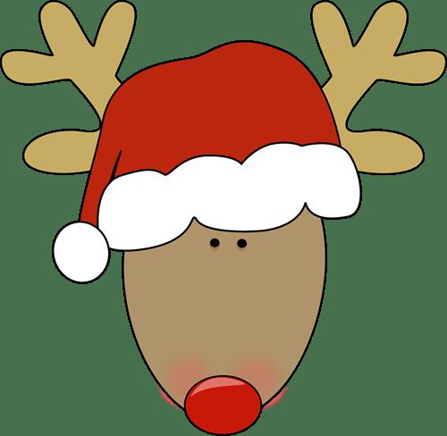 Rudolph head clipart » Clipart Portal.