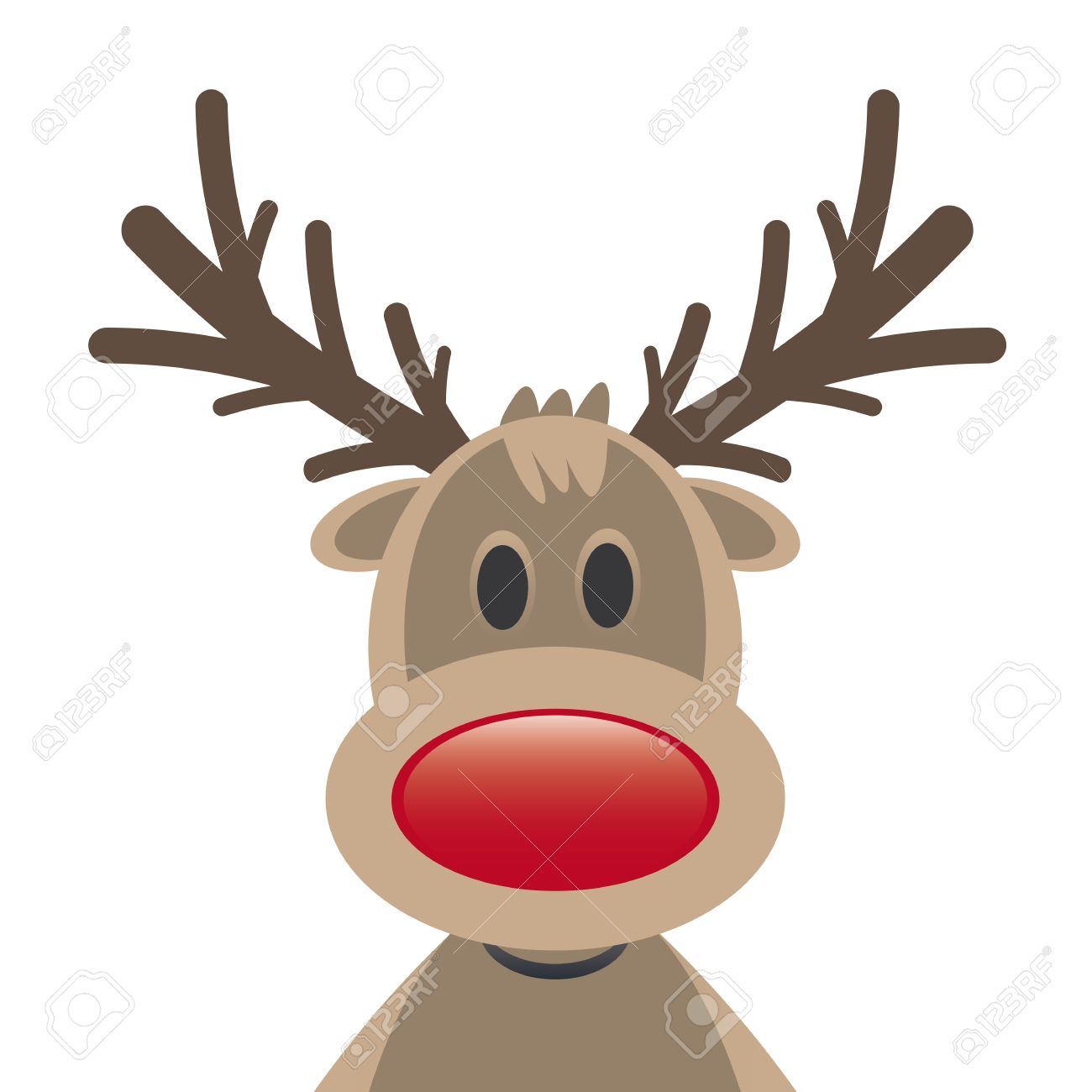 834 Rudolph Nose Stock Vector Illustration And Royalty Free.