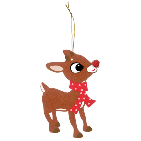 Rudolph the red nosed reindeer clipart 6 » Clipart Station.