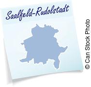 Saalfeld Illustrationen und Clip.