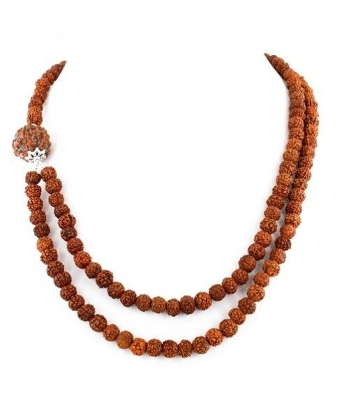 Pin on Rudraksha Necklace by menjewell.com.