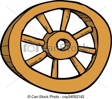 4339 Wheel free clipart.