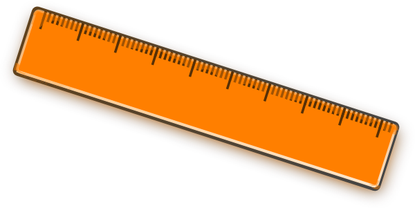 Free clipart rulers.
