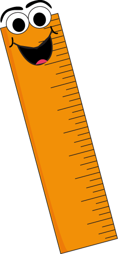 Ruler School Clipart.