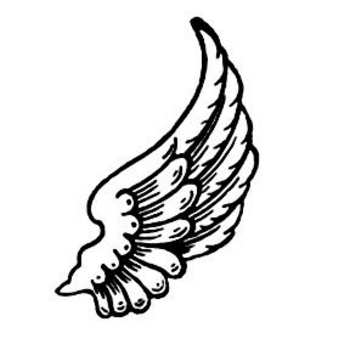 Clipart Picture of Wings.