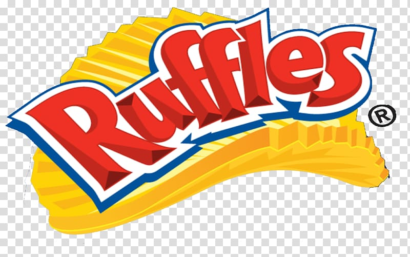 Ruffles Logo Potato chip Advertising Food, logo transparent.