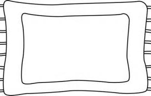Rug clipart black and white 7 » Clipart Station.
