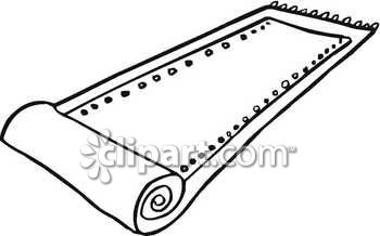 Rug clipart black and white 4 » Clipart Station.