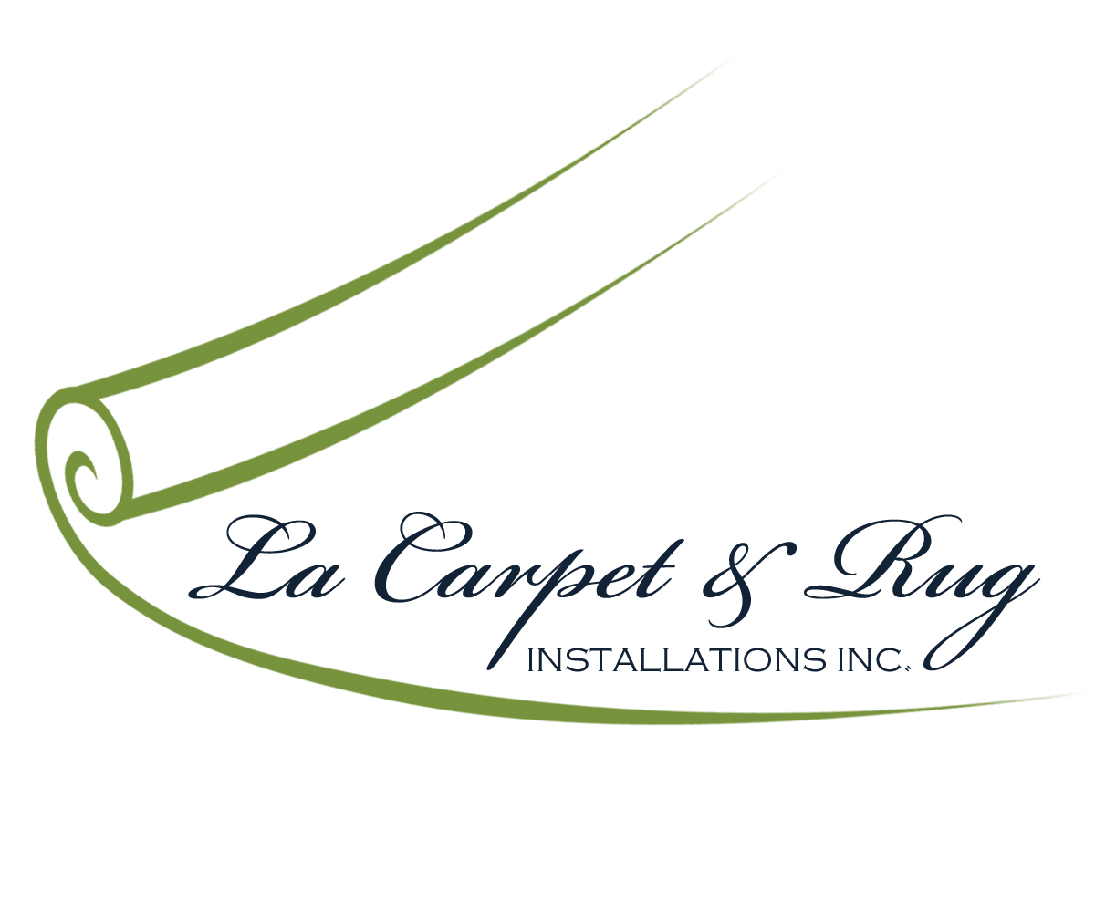 Elegant, Colorful, It Company Logo Design for LA CARPET.
