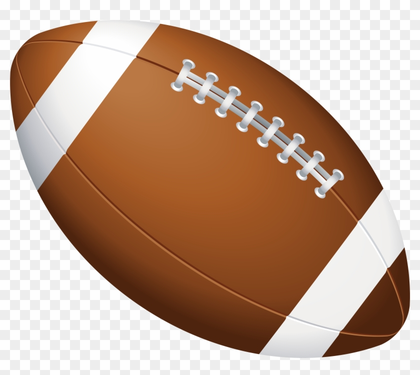 American Football Ball Png Clip Art Image, Transparent Png.
