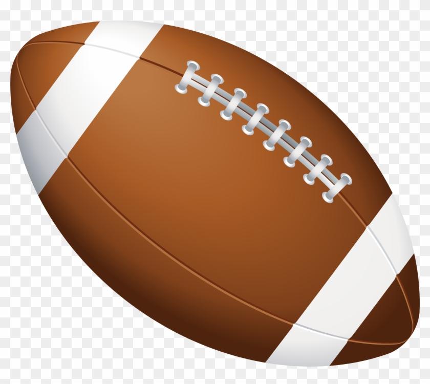 American Football Ball Png Clip Art Image, Transparent Png.