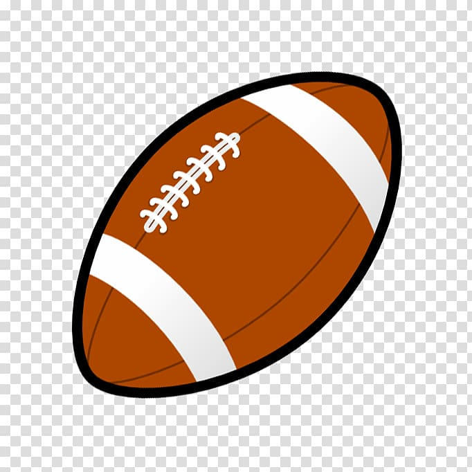 Brown football illustration, American football Rugby ball.