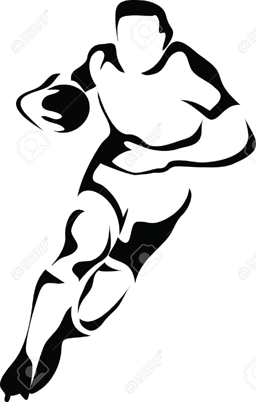 Rugby clipart #9