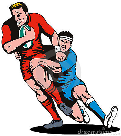 Free rugby clipart images.