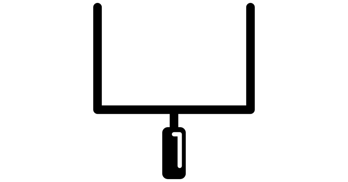 Rugby Goal Clipart.
