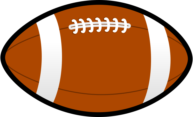 Free Clipart: Rugby ball.