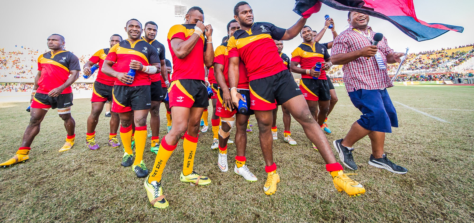 Harnessing Papua New Guinea\'s rugby league obsession.
