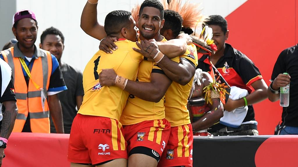 Rugby League World Cup 2017: Papua New Guinea 50.