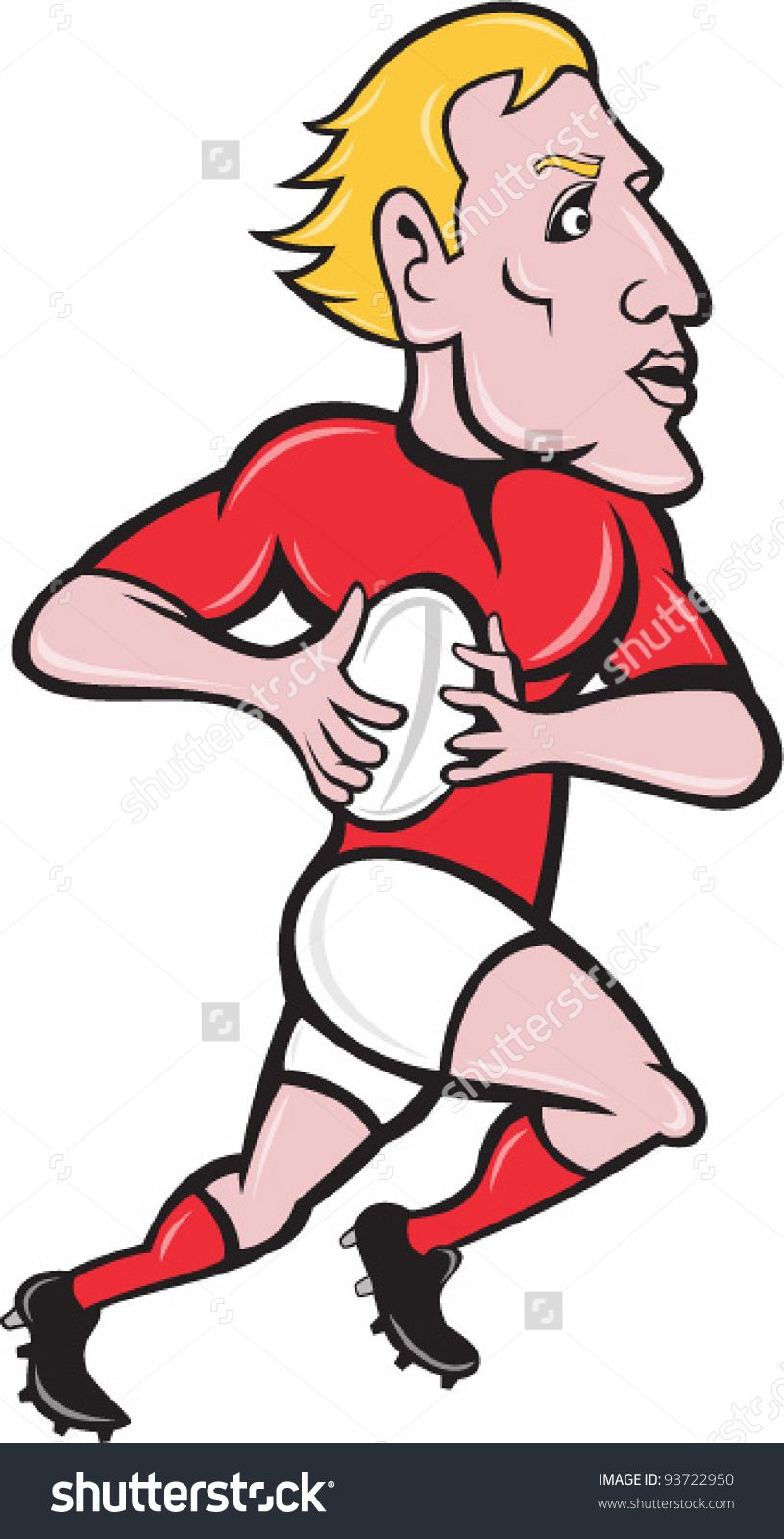 Showing post & media for Muscular rugby player cartoon.