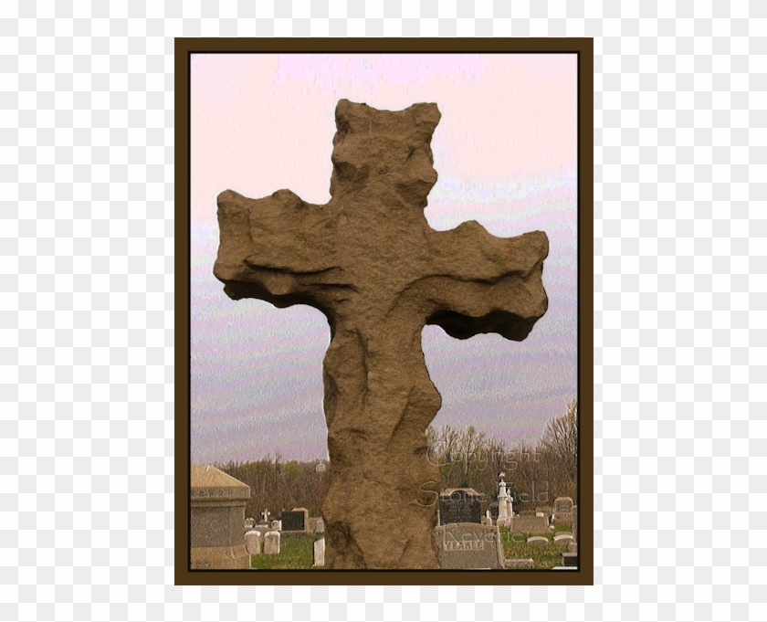 Louden Park Cemetery Rugged Cross.