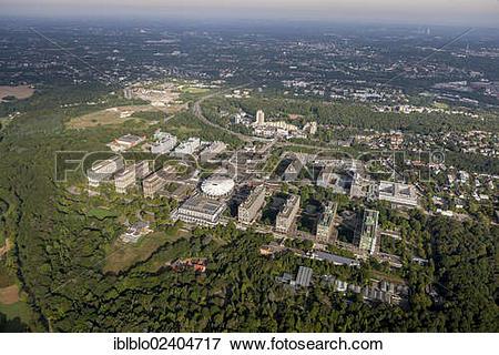 "Picture of ""Aerial view, Ruhr University Bochum, RUB, Bochum, Ruhr."