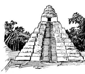 Mayan Ruins Clipart.