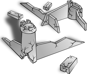 Ruins Clip Art at Clker.com.