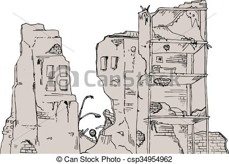 Ruins Clip Art Vector and Illustration. 4,111 Ruins clipart vector.