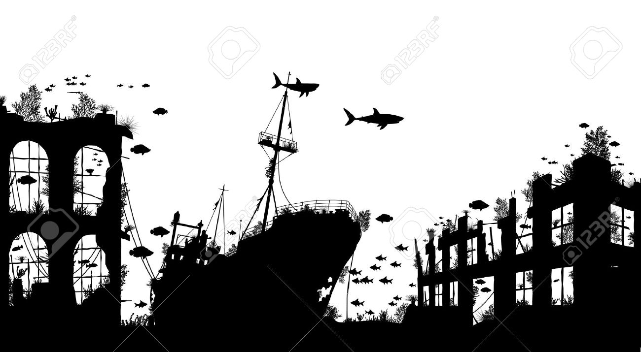 1,630 Shipwreck Stock Vector Illustration And Royalty Free.