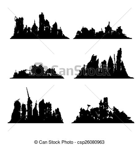 Destroyed city Clip Art Vector and Illustration. 140 Destroyed.