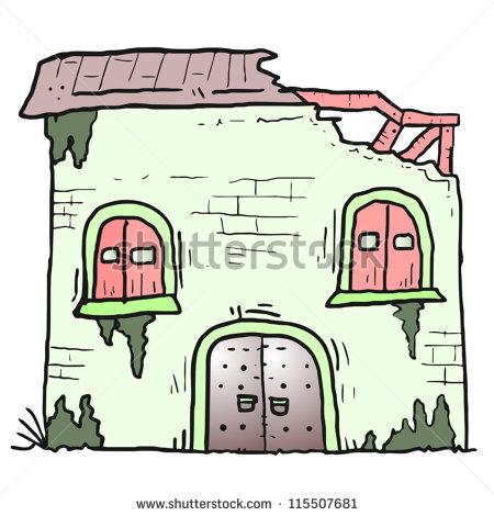House Ruins Clipart.