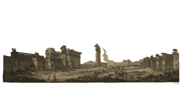 Ruins PNG Pic.