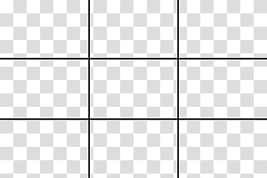 Rule of Thirds Grid transparent background PNG clipart.