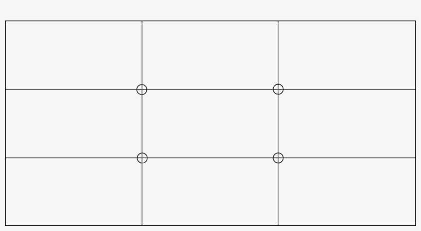 Rule Of Thirds Grid.
