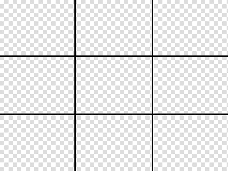 Rule of thirds Composition Grid, others transparent.