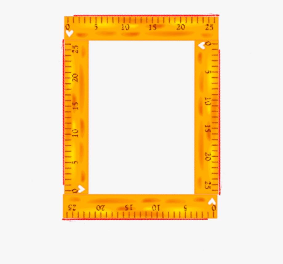 Ruler Clipart Frame.